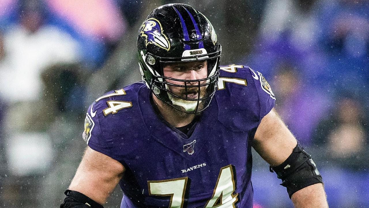 Ravens Release Offensive Lineman James Hurst