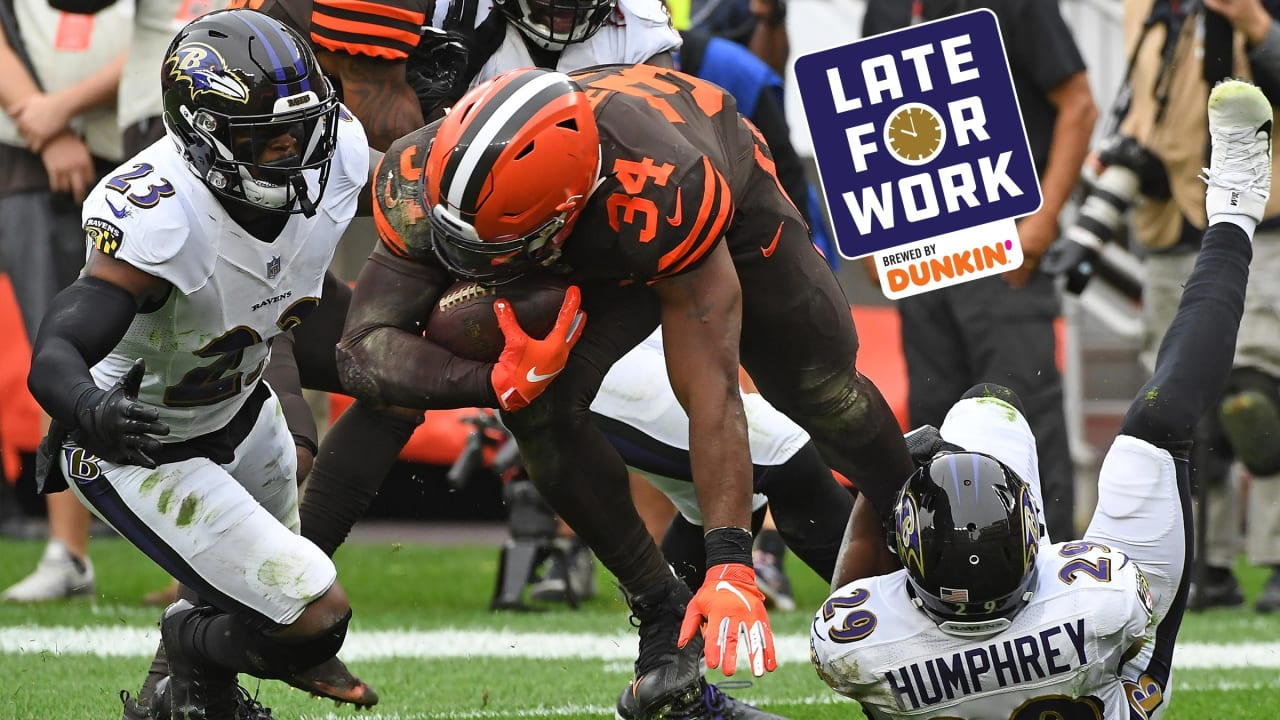 hot sales 56866 03cee Late for Work 8/29: Analysts Believe AFC North Runs Through ...