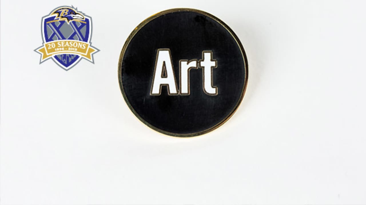 20 Ravens Relics In 20 Years: Art Modell Patch