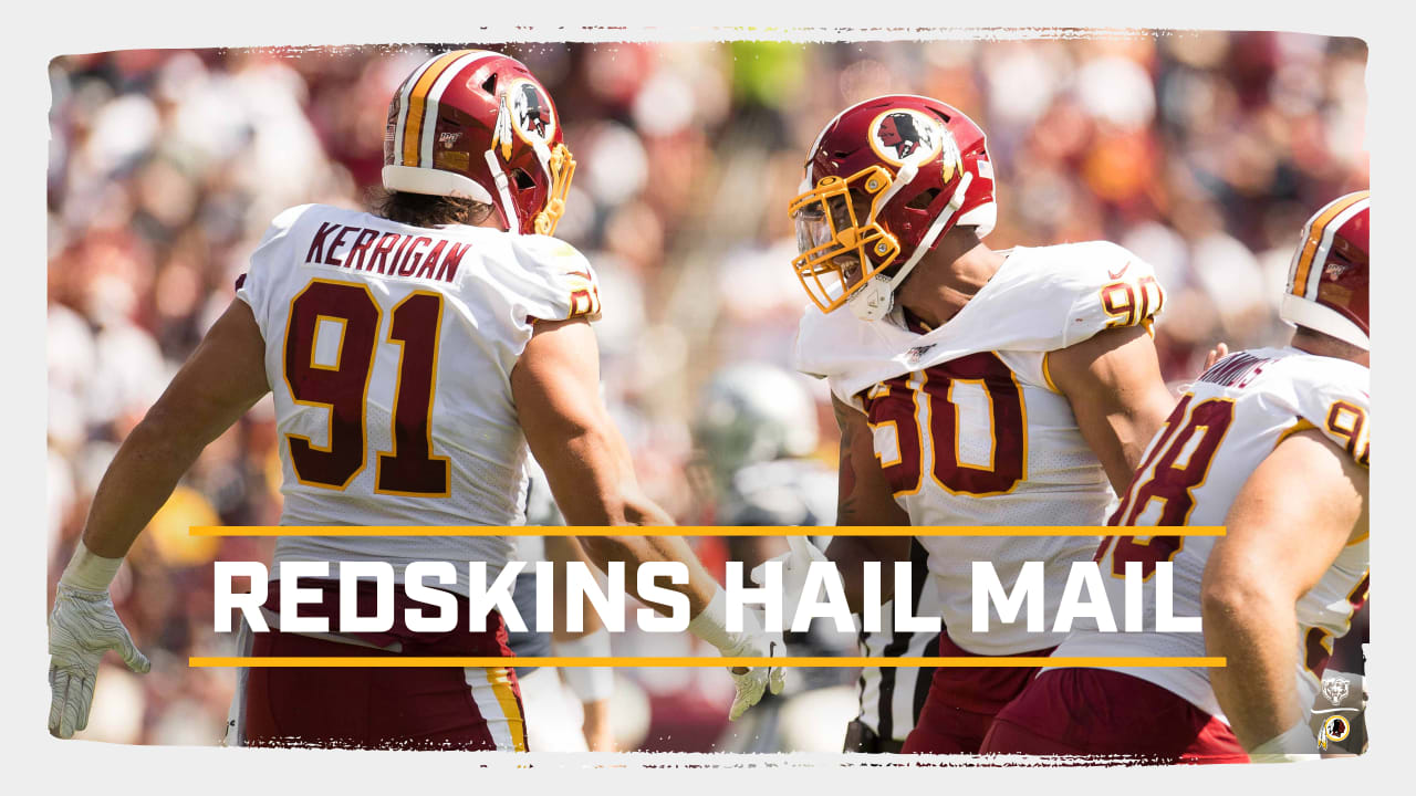pretty nice aa7a9 98f1c HailMail: Redskins Square Off Against Chicago In Primetime