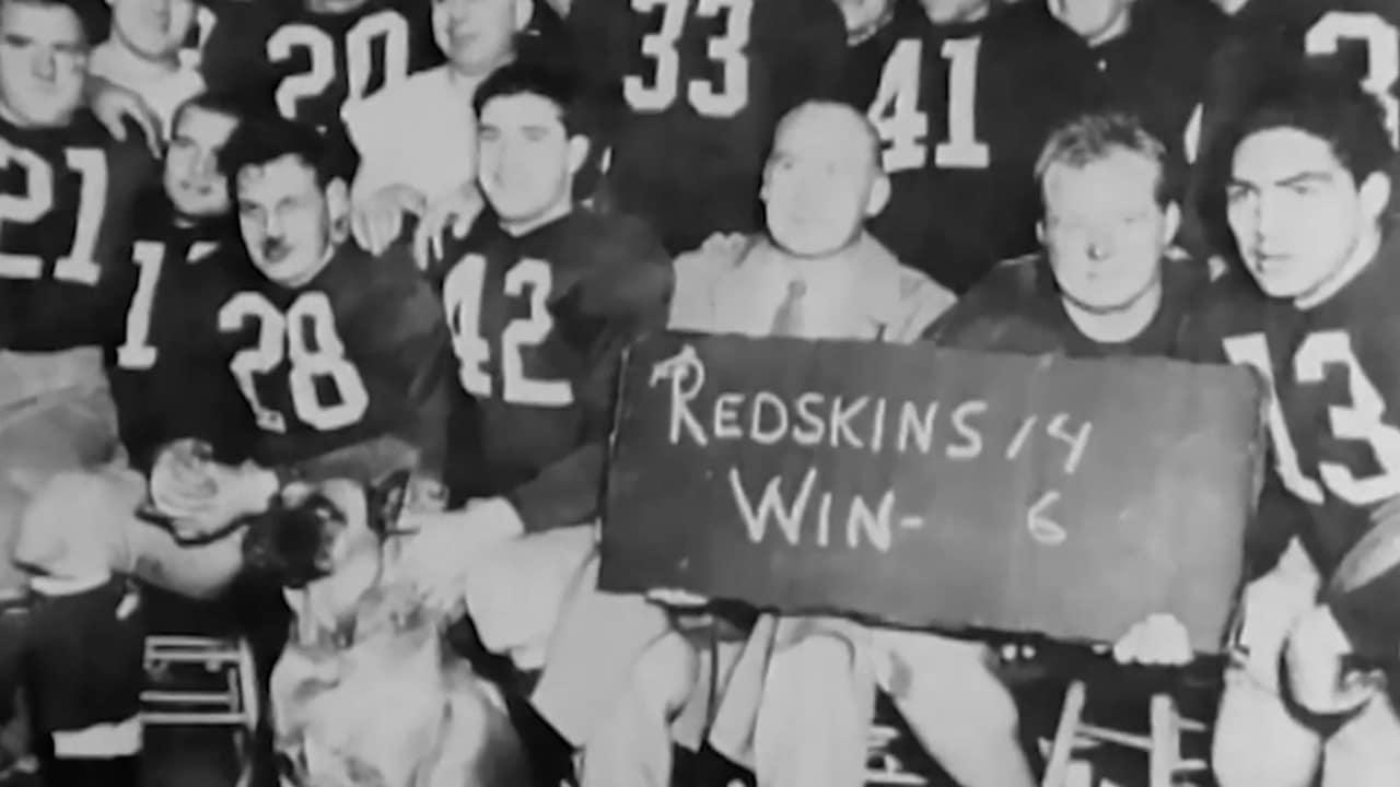 604fb89b 85 Years Of Redskins History: Baugh Leads Redskins To Title