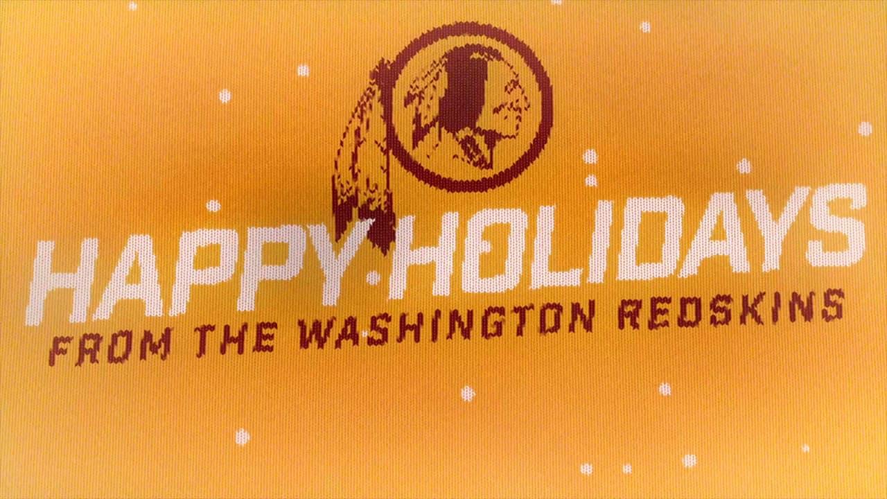 Redskins Holiday Message d98ea1f60