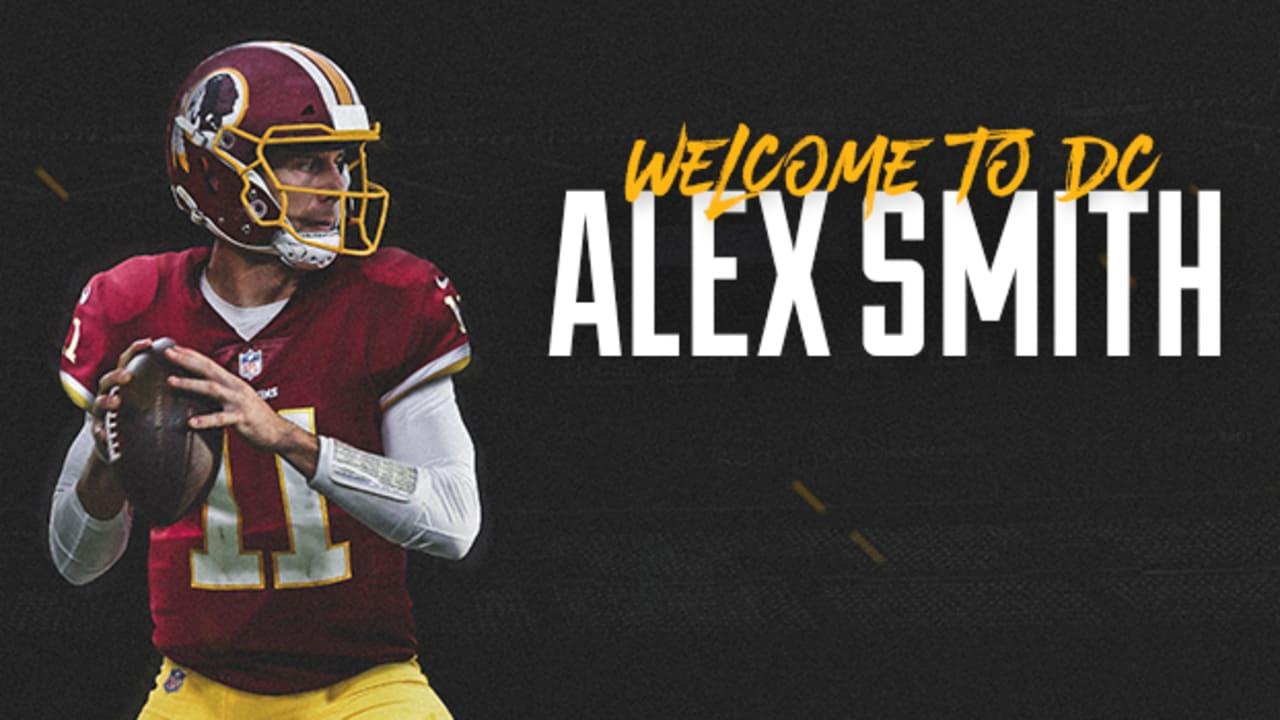 best service 690be 5262d Redskins Trade For Pro Bowl Quarterback Alex Smith
