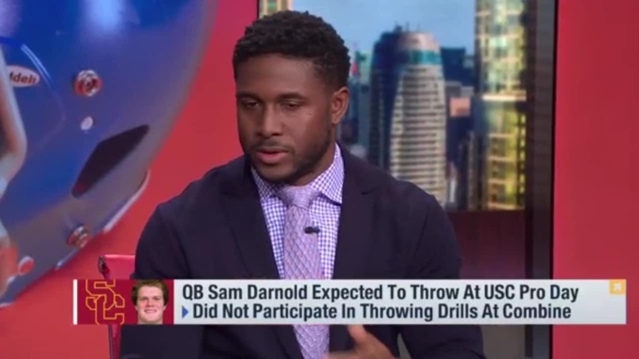 Nfl Reggie Bush Sam Darnold Can End Discussion On Best