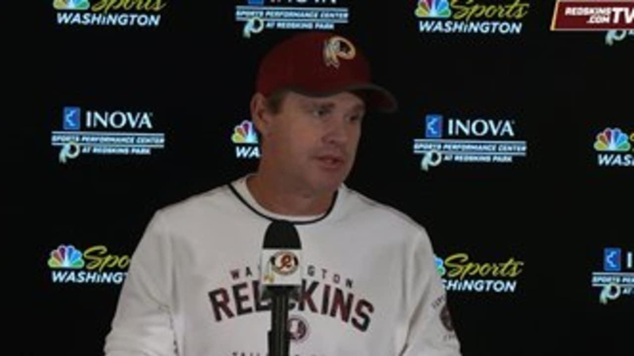 2ced00ee 11-27-17 Jay Gruden Pre-Dallas/Redskins Press Conference