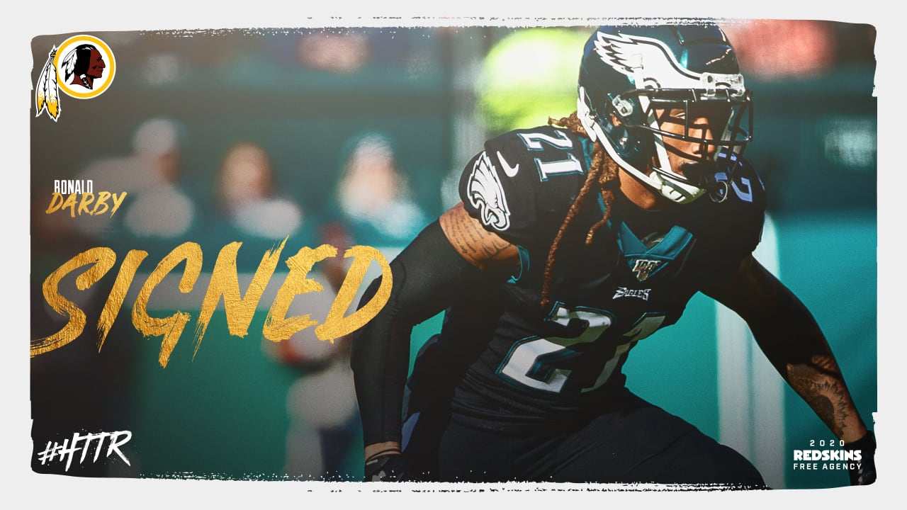 Redskins Sign CB Ronald Darby