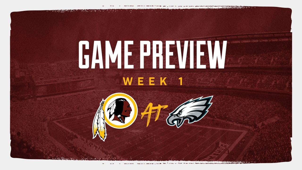 2019 Redskins Game Preview Redskins Eagles Week 1