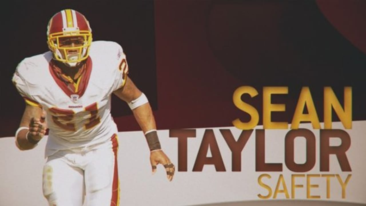low priced bd69e bb023 NFL: Sean Taylor Career Highlights
