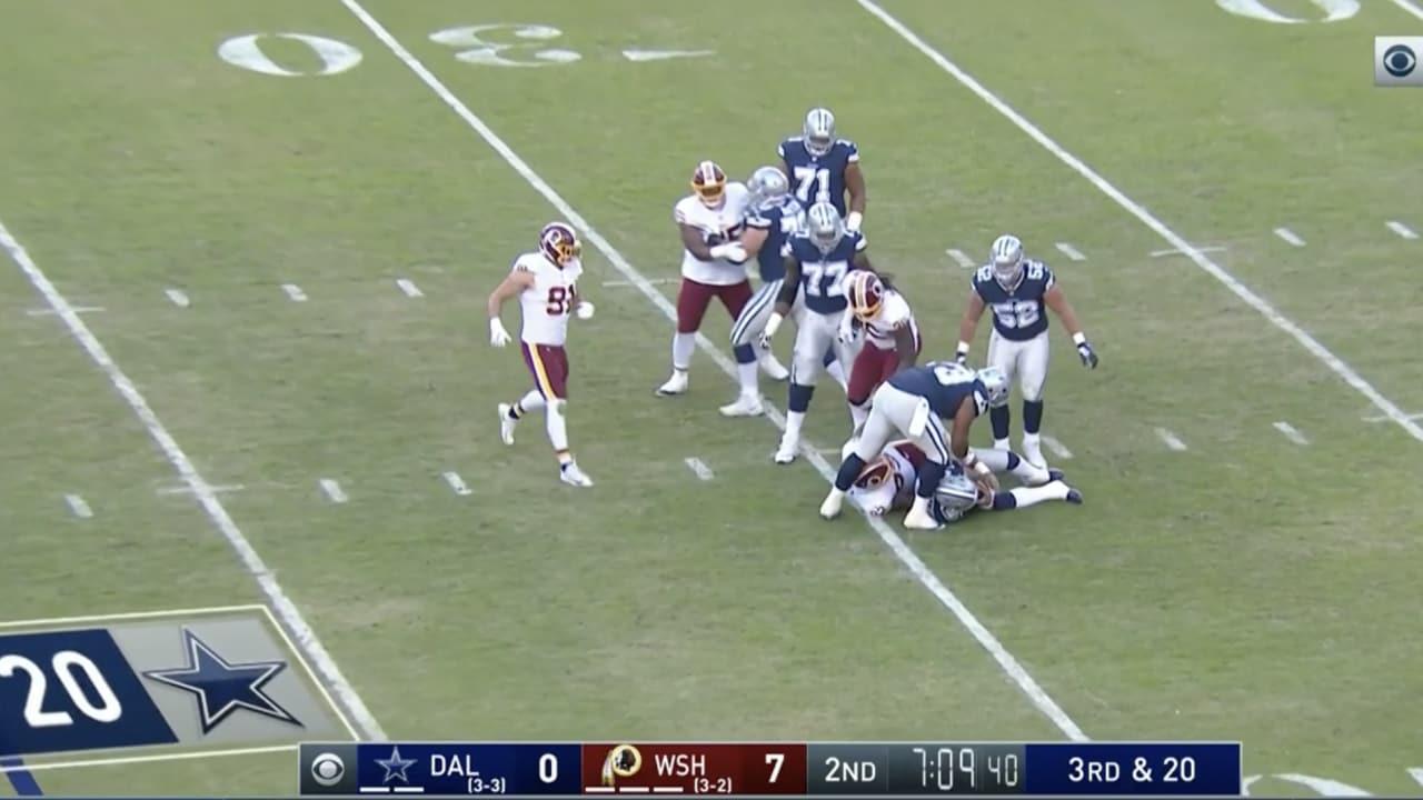 826a6bff8 All Sacks From Dallas Cowboys Vs. Washington Redskins