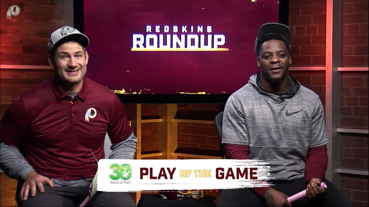 Redskins Roundup: Virginia Lottery Play Of The Game
