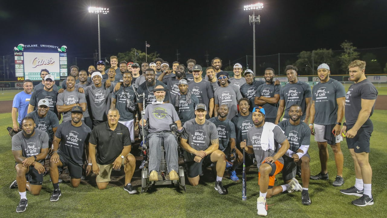 2019 Celebrity Black and Gold Softball Game
