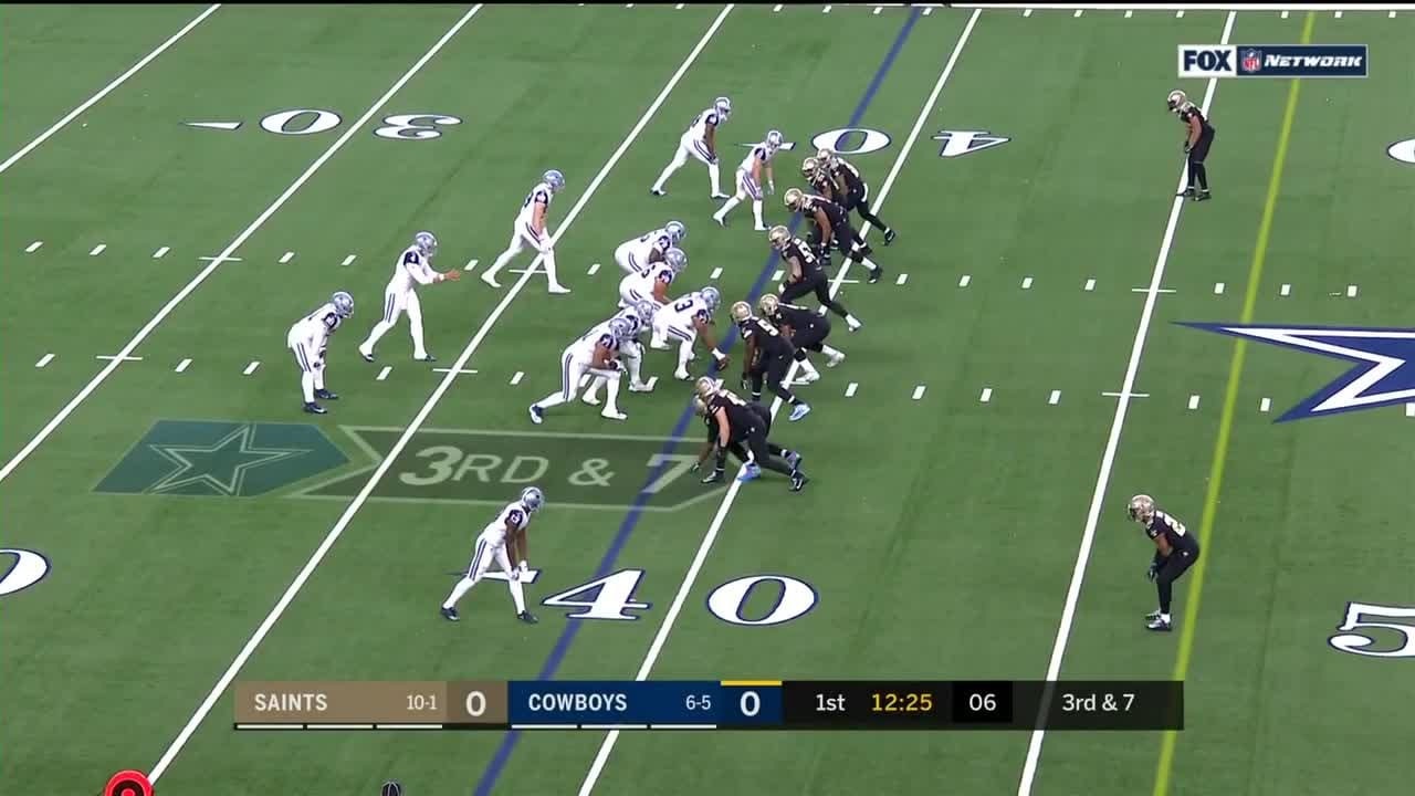 Saints Vs Cowboys Highlights Week 13