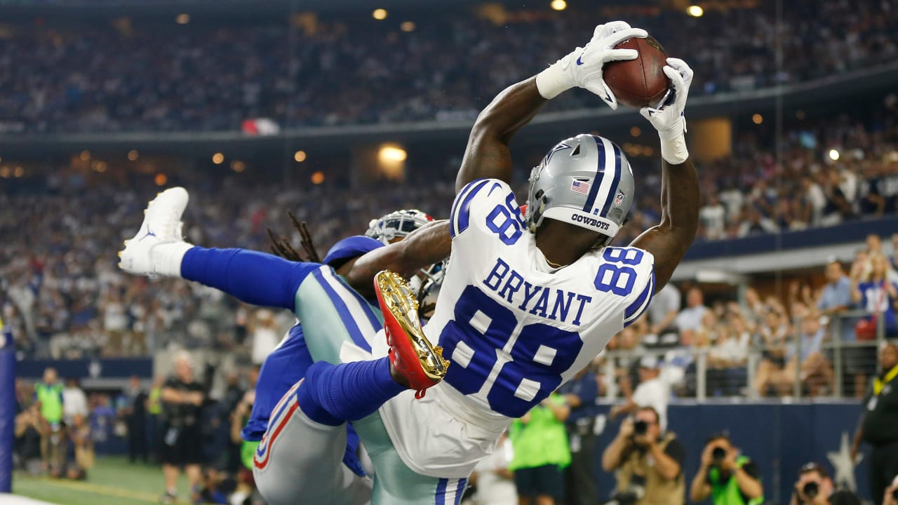 5e70940bd Chronicling Dez Bryant s journey from former Cowboy to Saints wide receiver