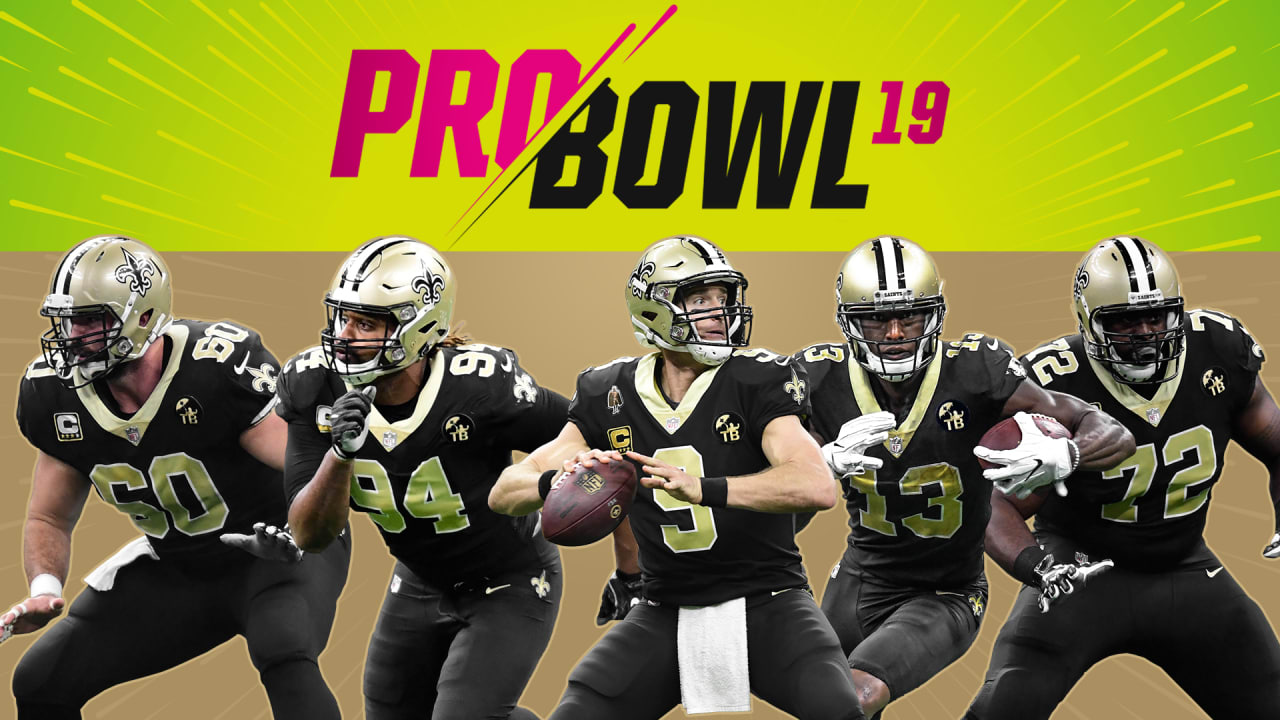 969fe5553 Five New Orleans Saints named to 2019 Pro Bowl
