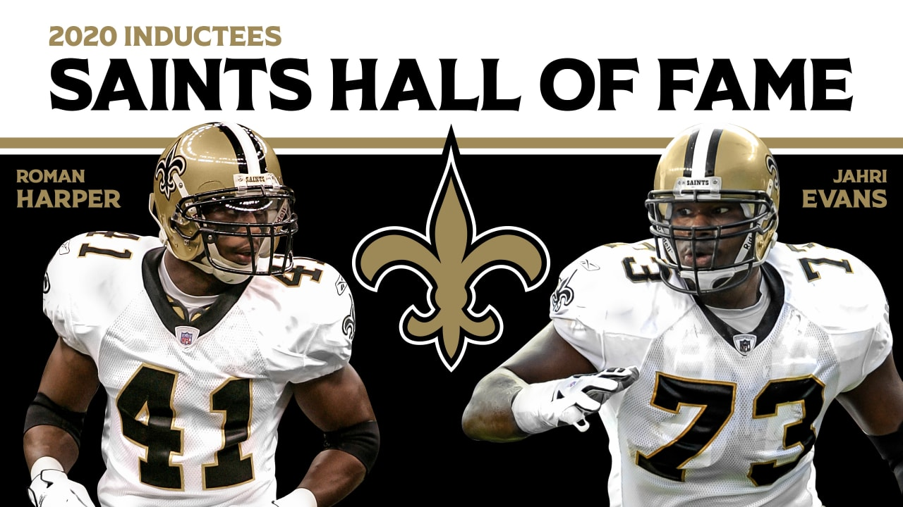 Jahri Evans, Roman Harper and Marco Garcia set to be honored by ...