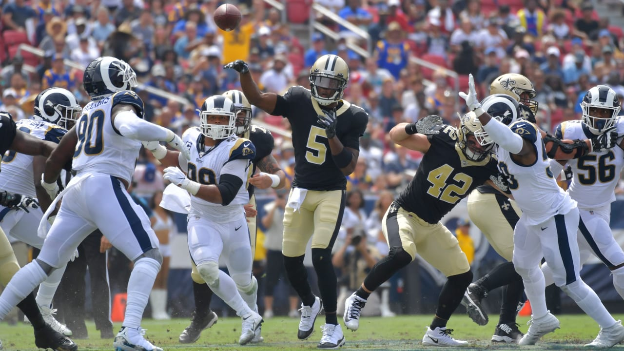 on sale 960a9 b0f57 Halftime update: Los Angeles Rams 6, New Orleans Saints 3