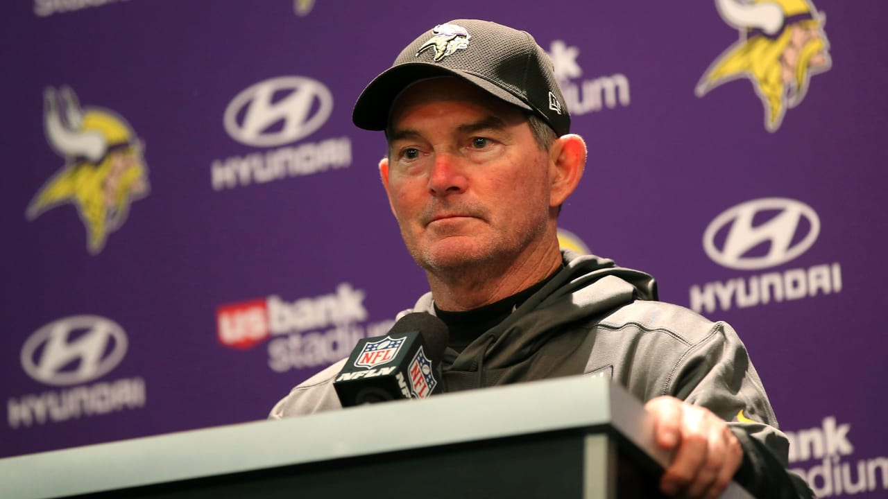 Minnesota Vikings head coach Mike Zimmer conference call - October ... 29a9cea29
