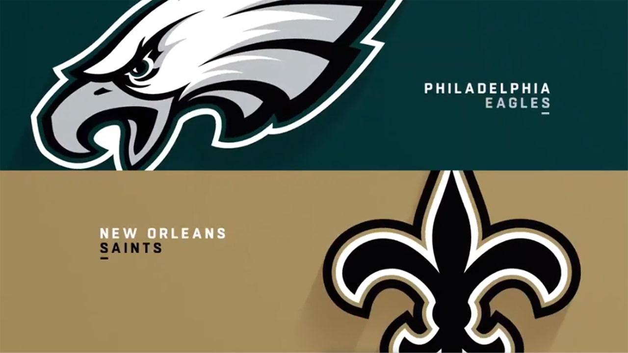 3d8afaa7 Eagles vs. Saints highlights | Week 11