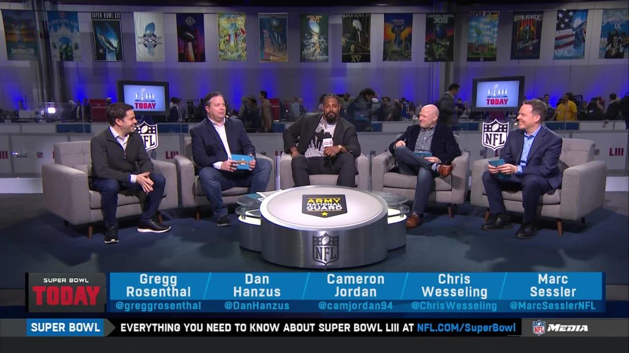 Cameron Jordan joins  Super Bowl Today  a4d290686
