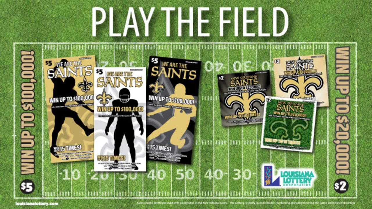 Louisiana Lottery Saints Second-Chance Drawing Entry