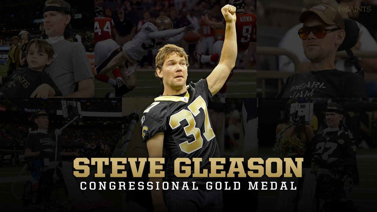 New Orleans Saints Legend Steve Gleason To Receive