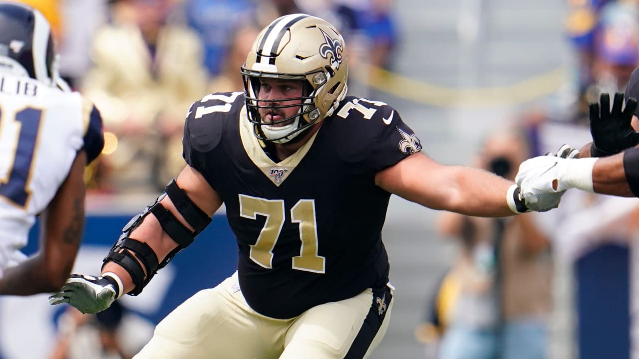 Ryan Ramczyk finds calling on right side of Saints line
