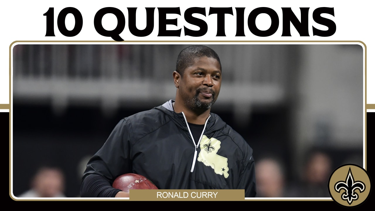 10 questions with New Orleans Saints receivers coach Ronald Curry