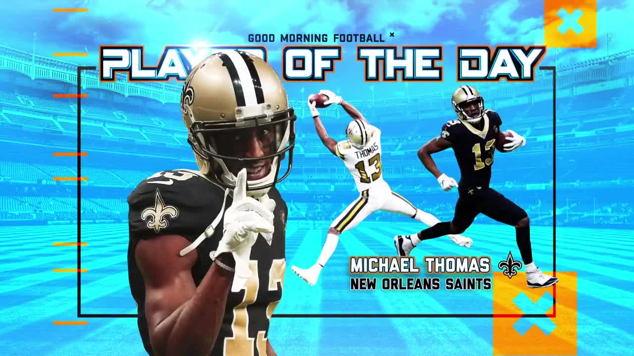 New Orleans Saints wide receiver Michael Thomas  defining moments of 2018 ba38378ad