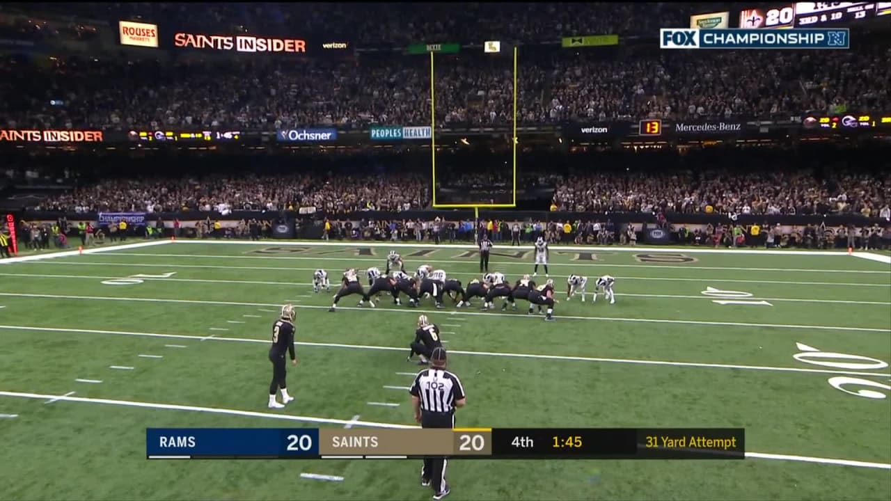 Wil Lutz gives Saints late lead with 31-yard FG 039e33938