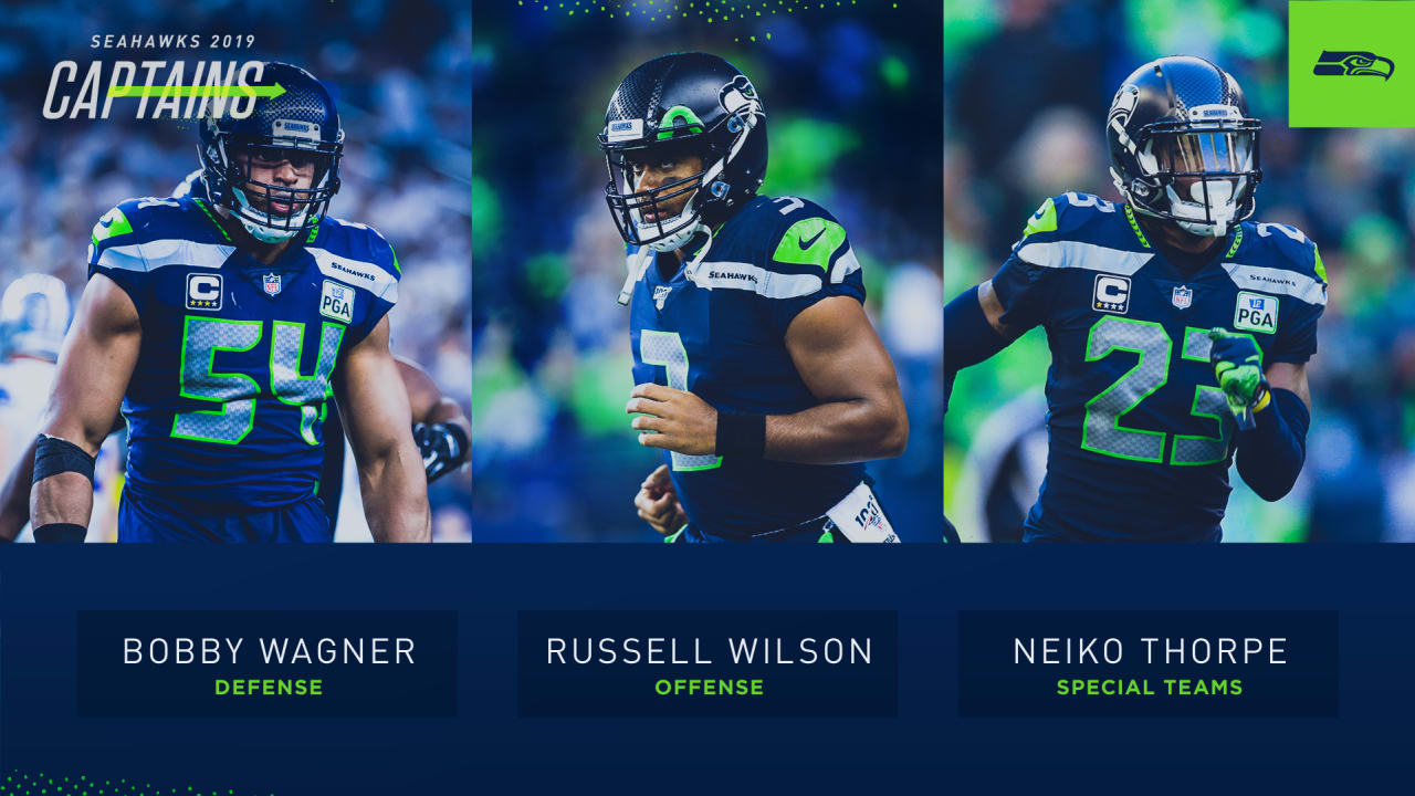Russell Wilson Bobby Wagner Neiko Thorpe Named 2019