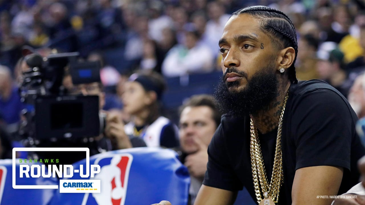 Monday Round-Up: Seahawks Players' Reactions To Death Of Rapper Nipsey Hussle
