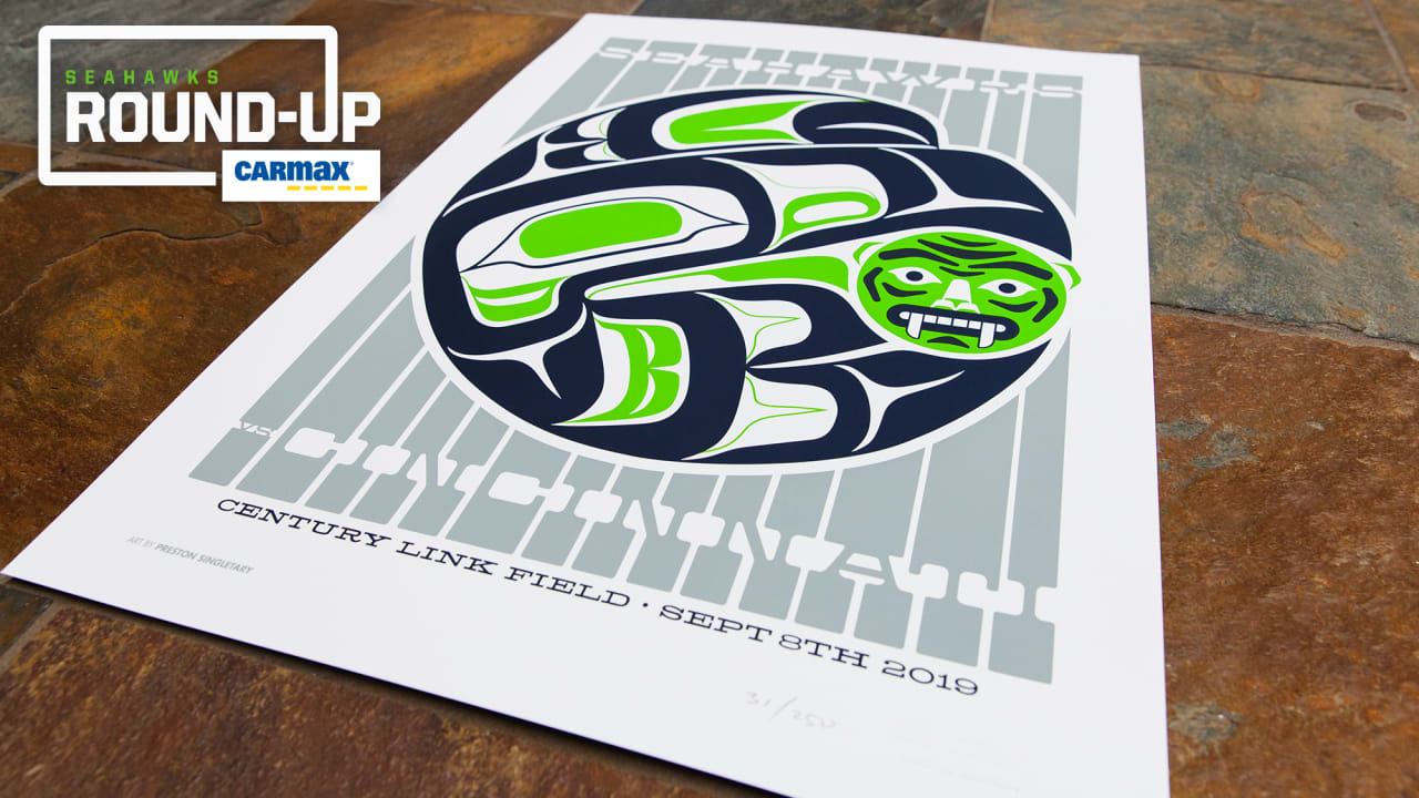 Wednesday Round Up Seahawks Gameday Poster Series