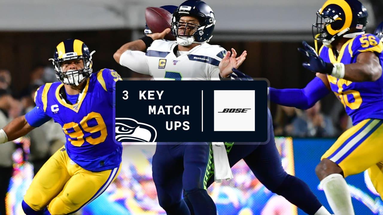 2020 Week 10 Key Matchups Seahawks At Rams