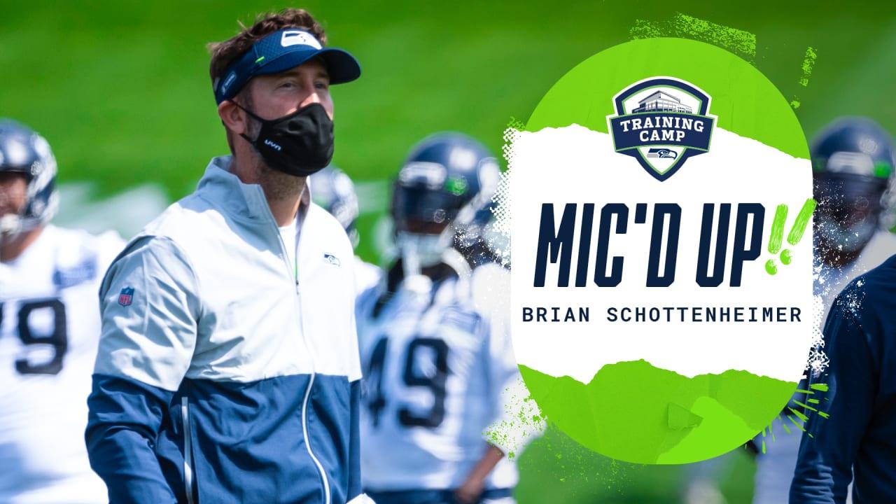 Seahawks Mic'd Up: Brian Schottenheimer ...