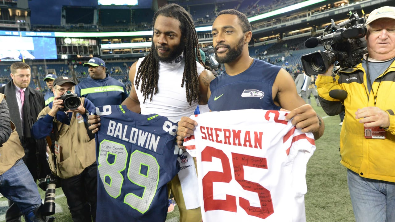 save off b80d5 a1740 Doug Baldwin, Seahawks Pay Tribute To Richard Sherman With ...
