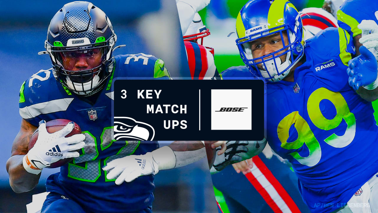 2020 Week 16 Key Matchups Seahawks Vs Rams