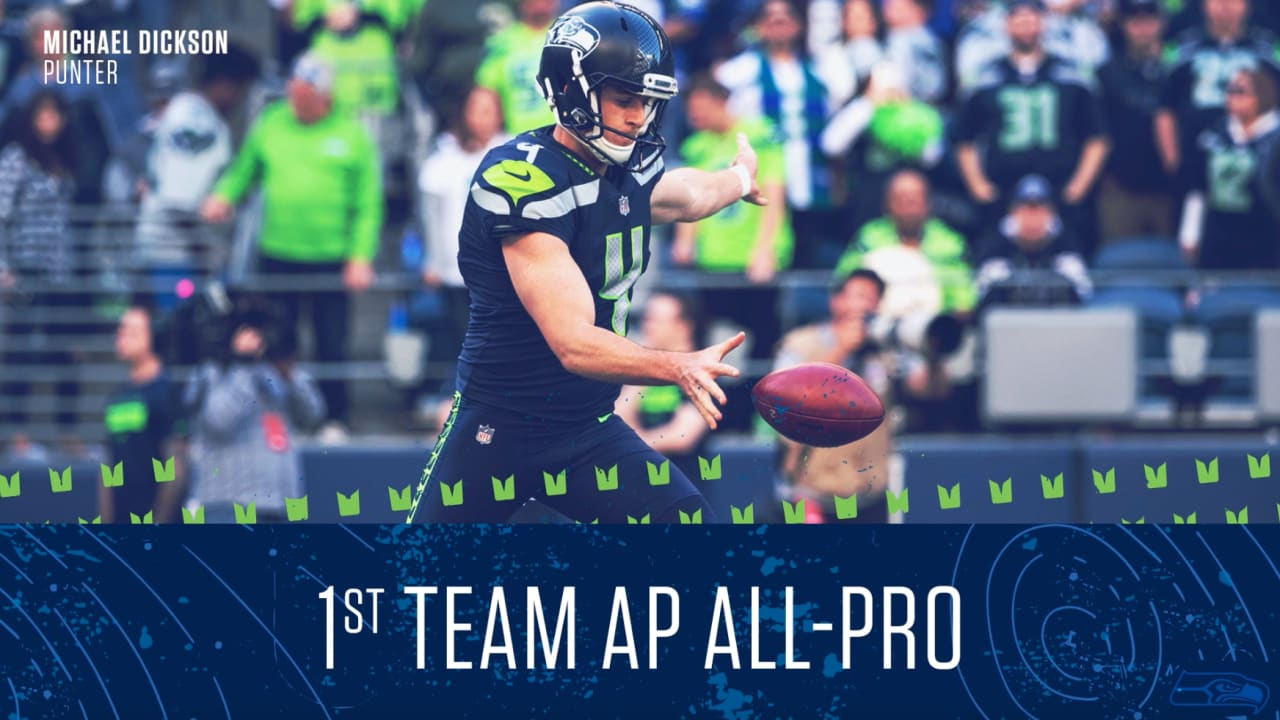 Michael Dickson  First-Team AP All-Pro 3b8af6f54