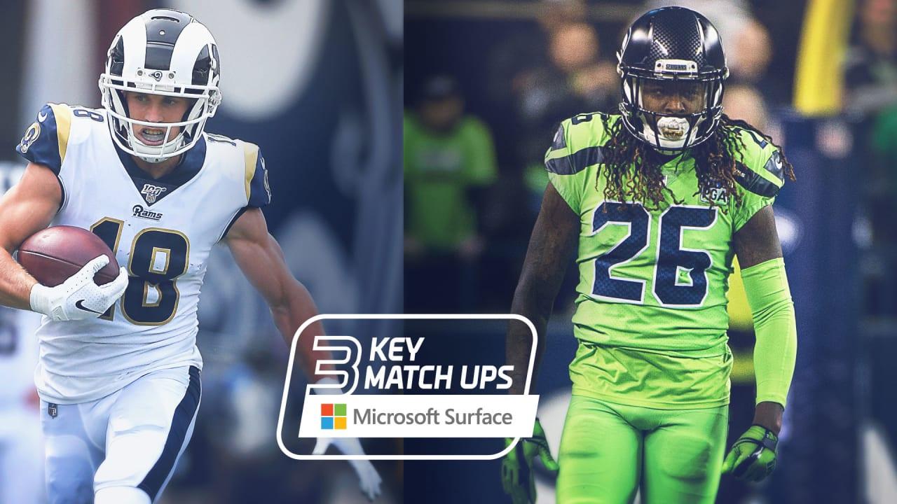 2019 Week 5 Key Matchups Seahawks Vs Rams