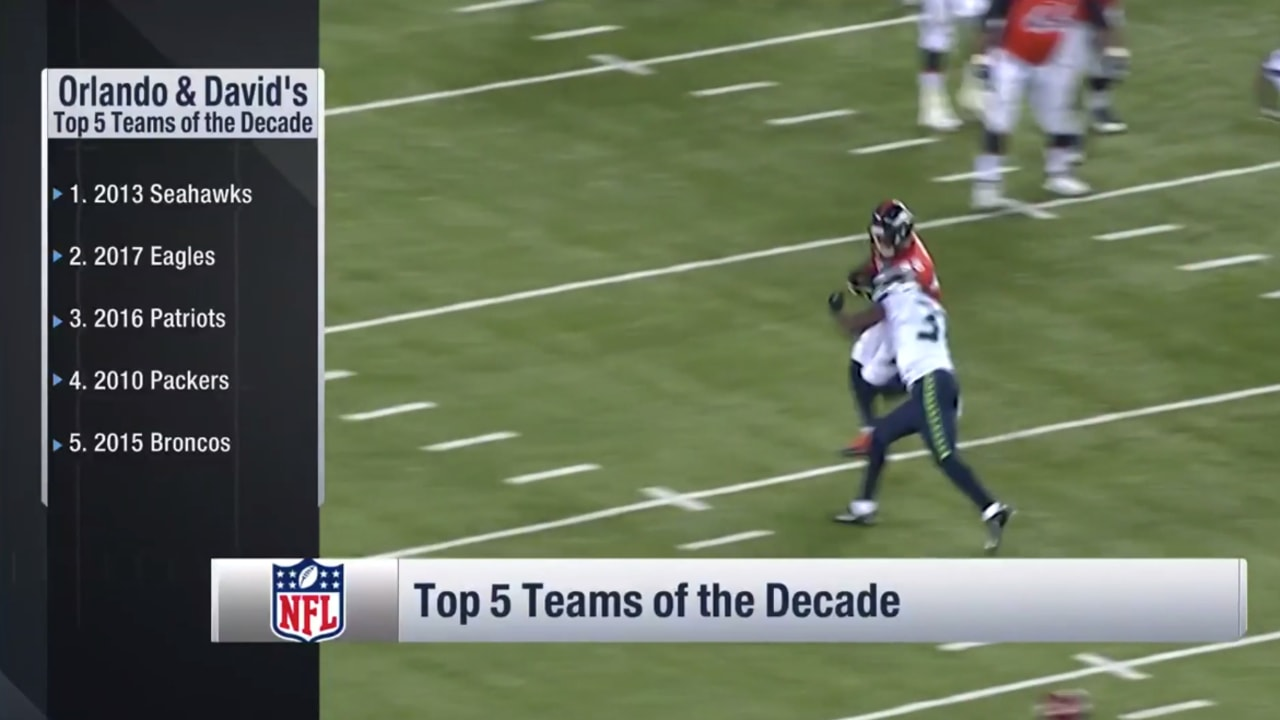 NFL Network Names The Top 5 Teams Of The Decade
