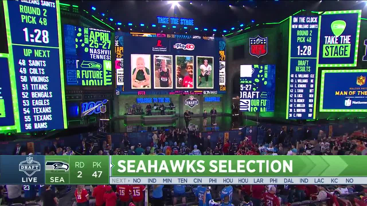 cf8d3881 Seahawks Select Utah Safety Marquise Blair No. 47 In 2019 NFL Draft