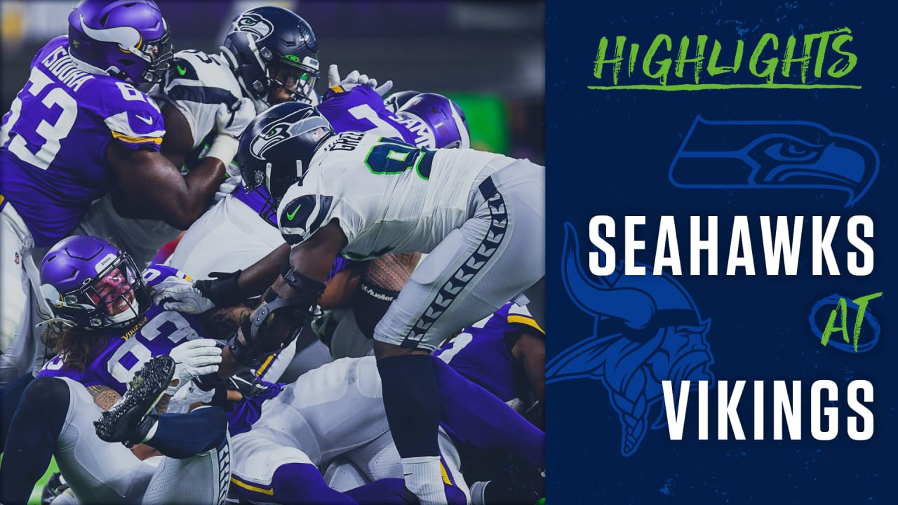 5dab736d 2019 Preseason Week 2: Seahawks at Vikings Highlights