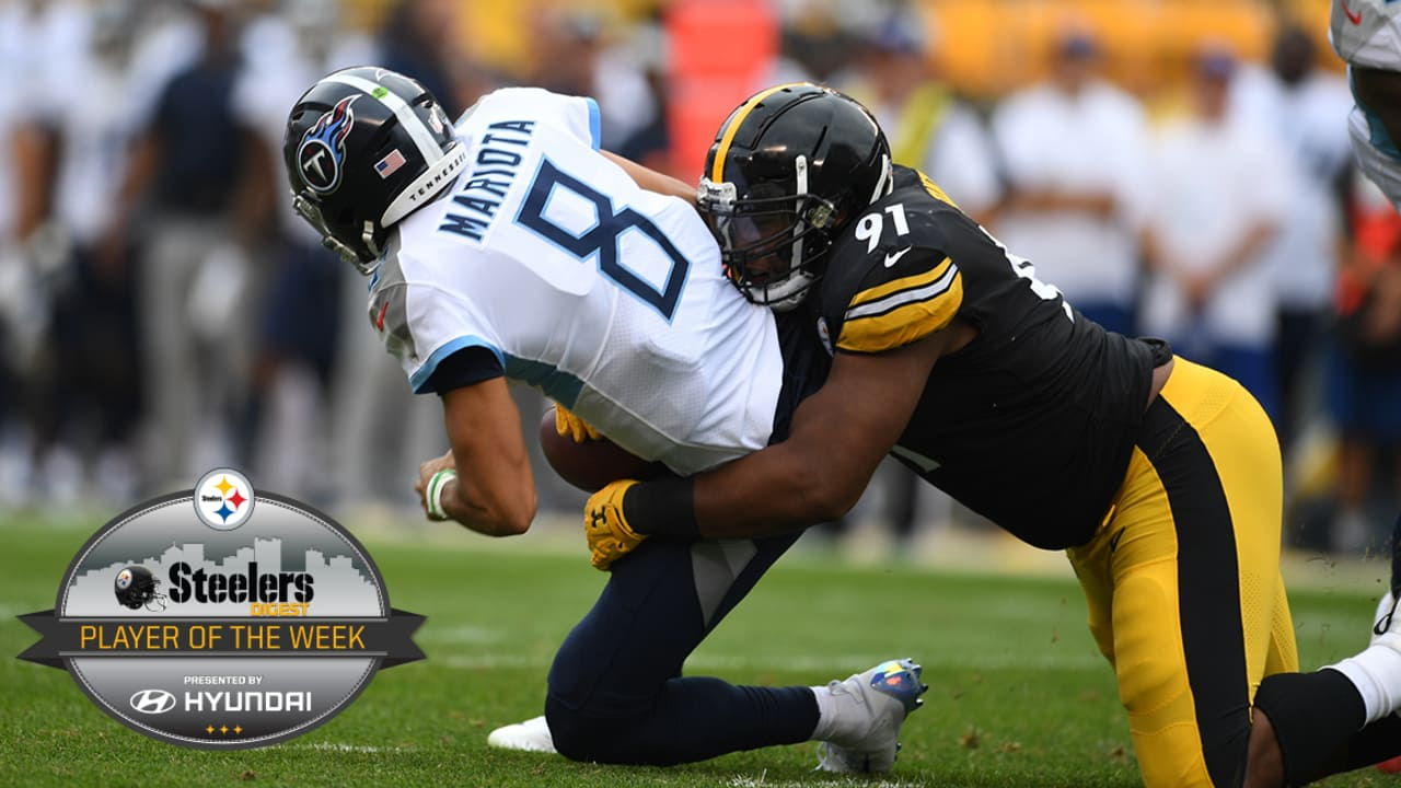 Tuitt is Digest Player of the Week 8dc59c9ca