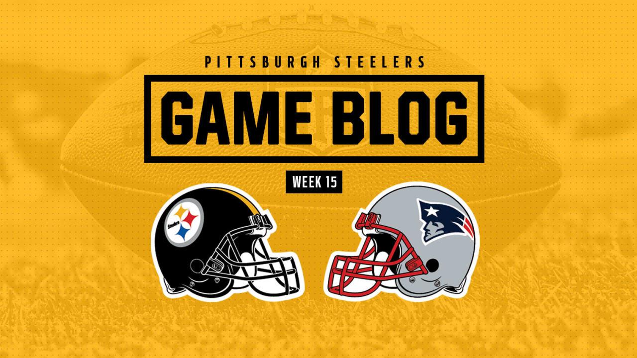 01b706344 Game Blog  Steelers vs. Patriots