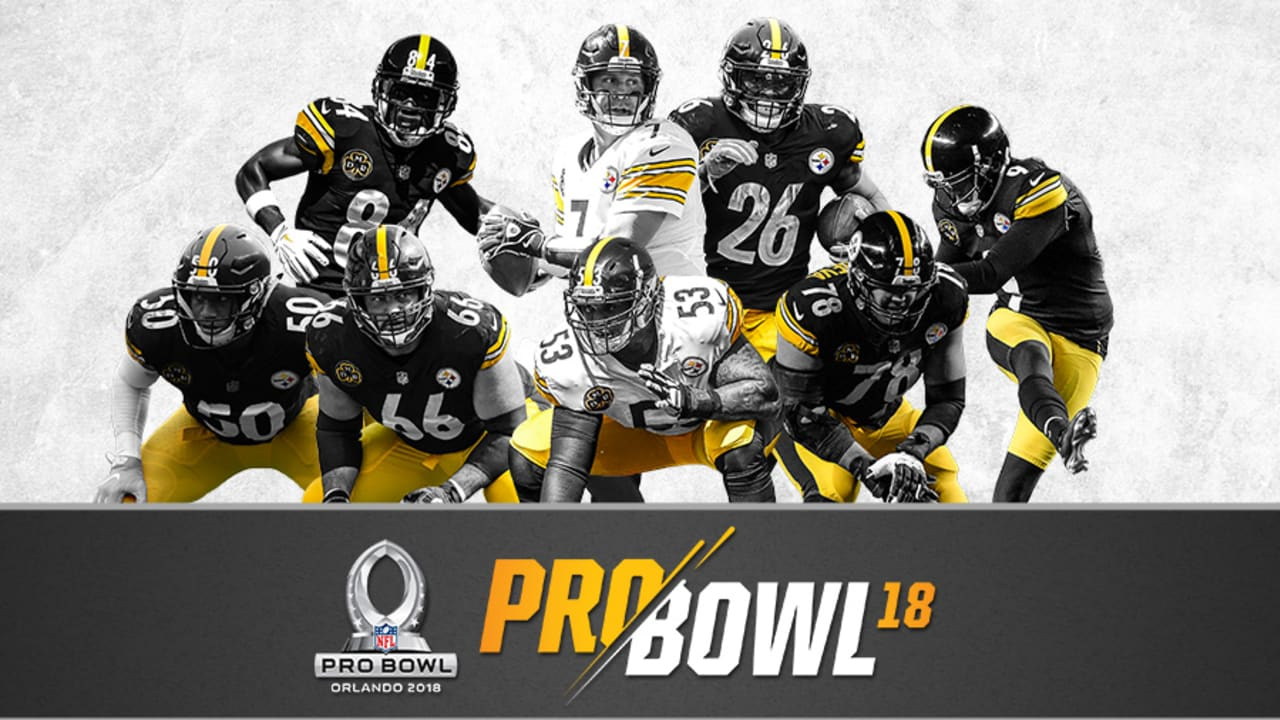 c08c968f3e4 Eight Steelers voted to the Pro Bowl