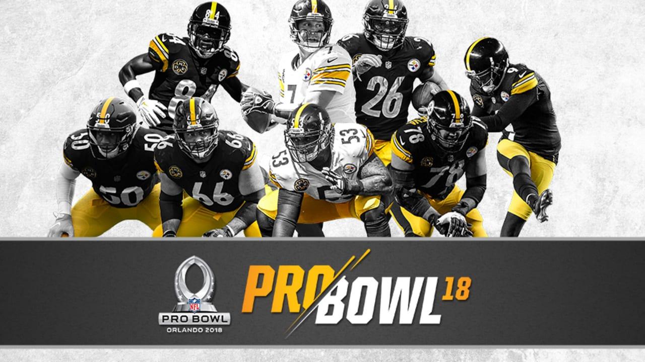 Alejandro Villanueva Piitsburgh Steelers AFC Pro Bowl Game Jersey