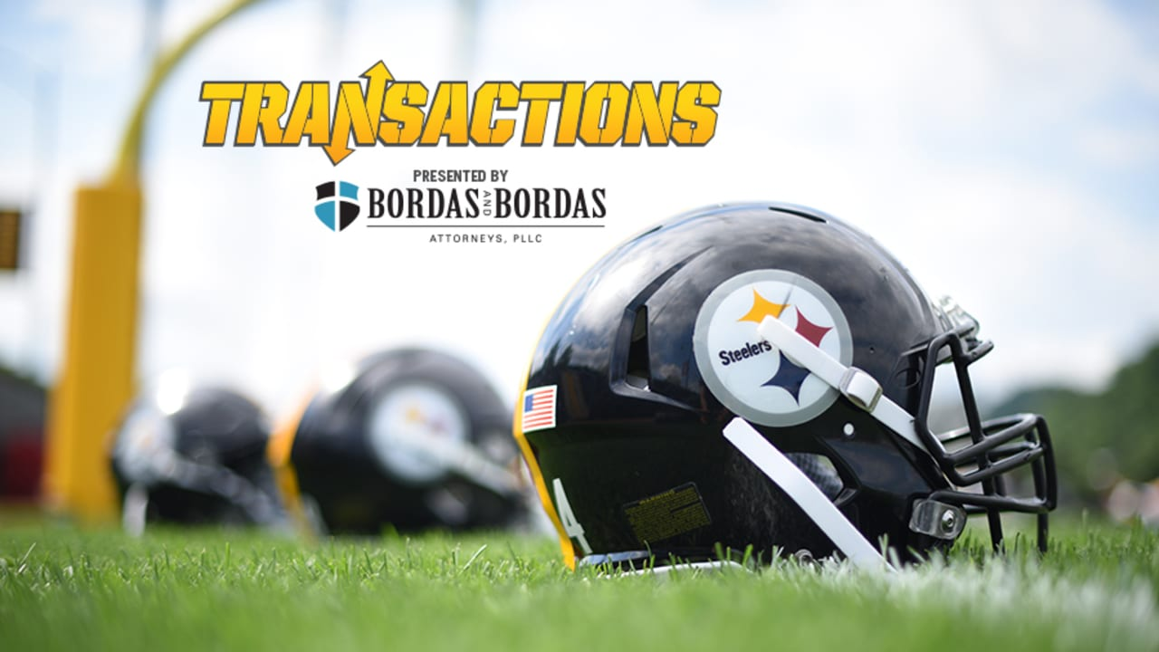sale retailer 312d9 68fb9 Steelers trim roster to 53