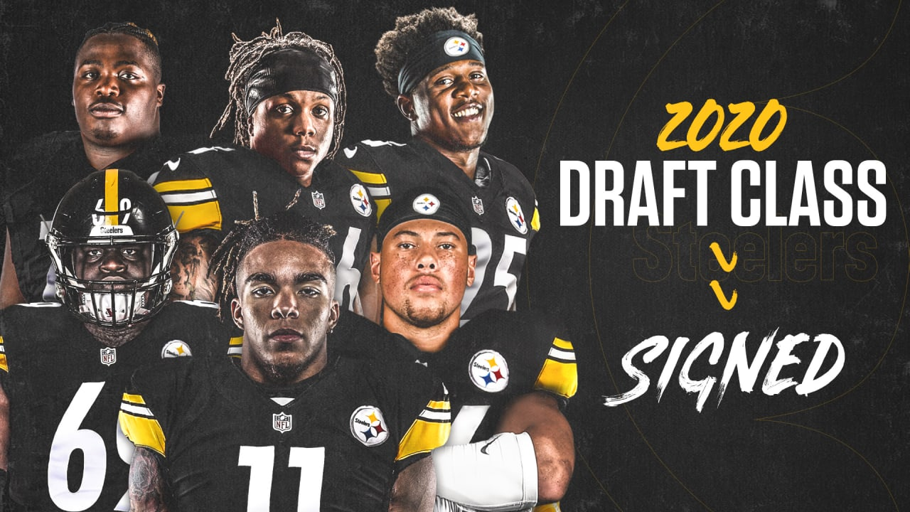 Steelers Sign 2020 Rookie Class