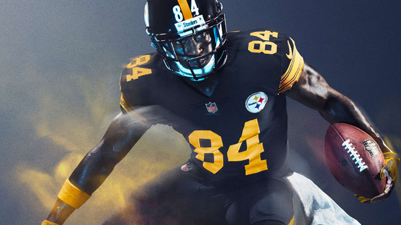 timeless design 4cdb9 7023d Steelers Color Rush 2016