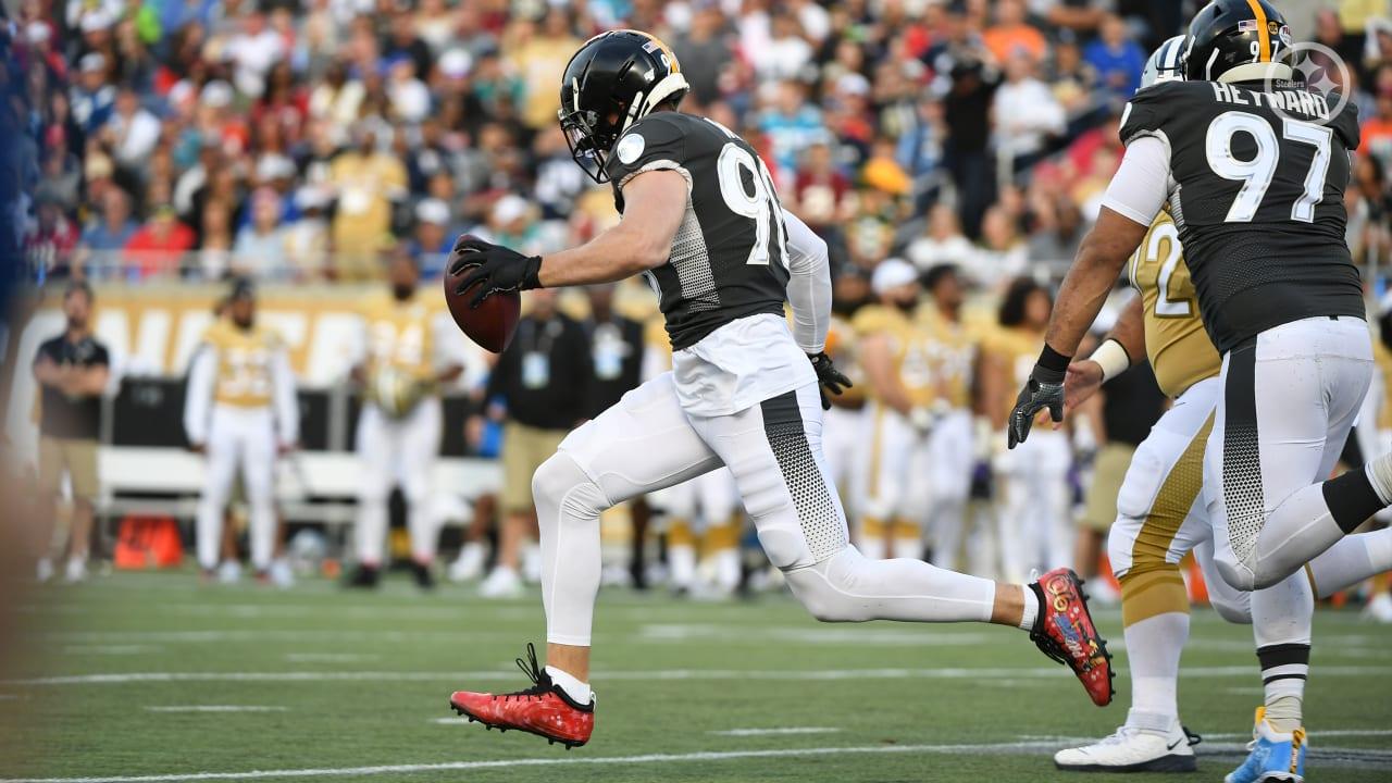 Pro Bowl Highlight: Watt's 82-yard scoop and score