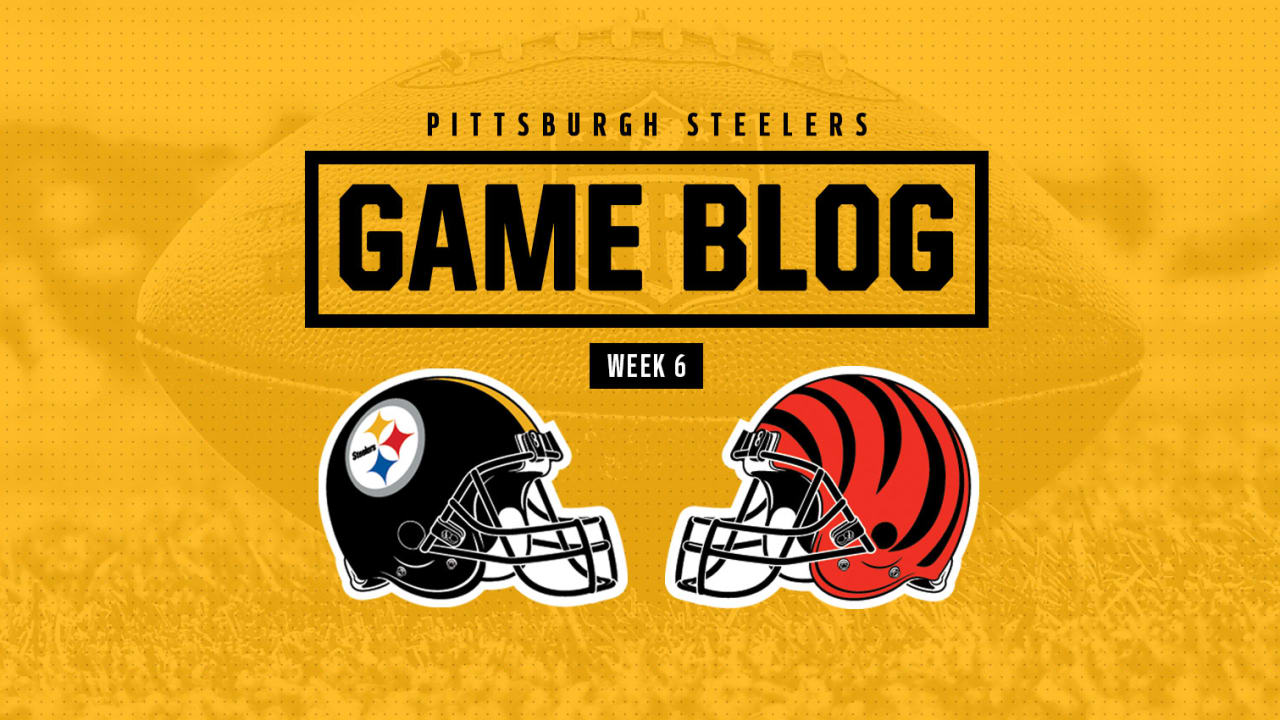 Game Blog  Steelers at Bengals f4fa96685